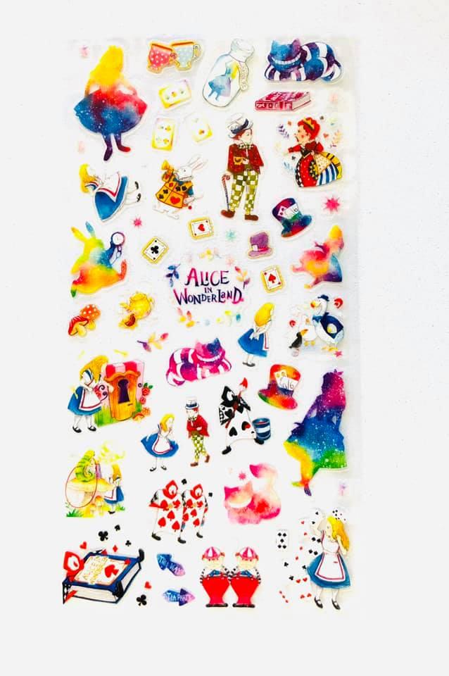 Adesivo Alice no País das Maravilhas
