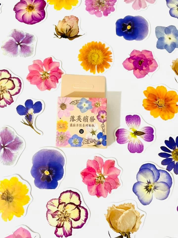 Adesivo caixinha Orquídeas