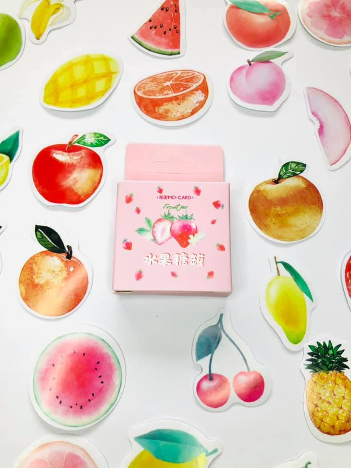 Adesivo frutinhas