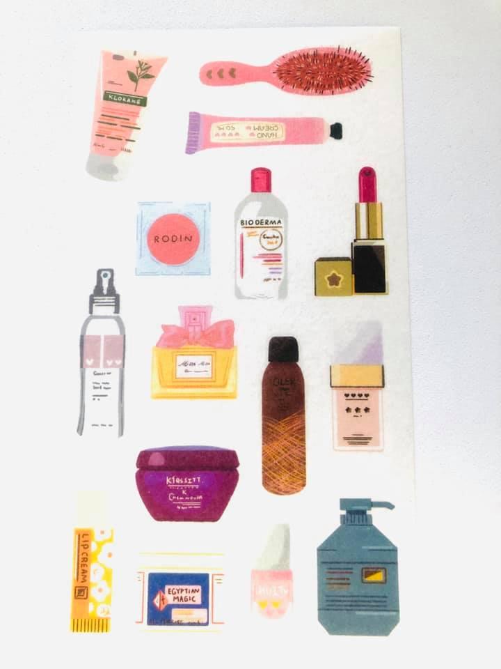 Adesivo Maquiagem Luxo 4 un