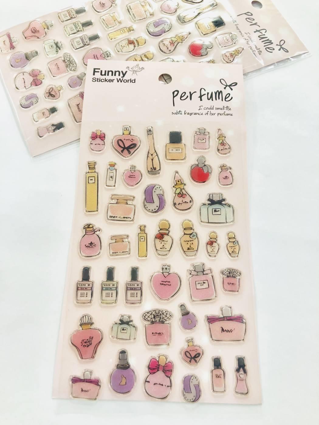 Adesivo Perfumes