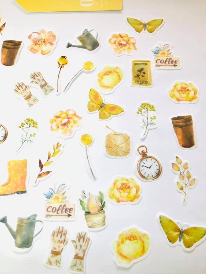 Adesivo Primavera Amarelo