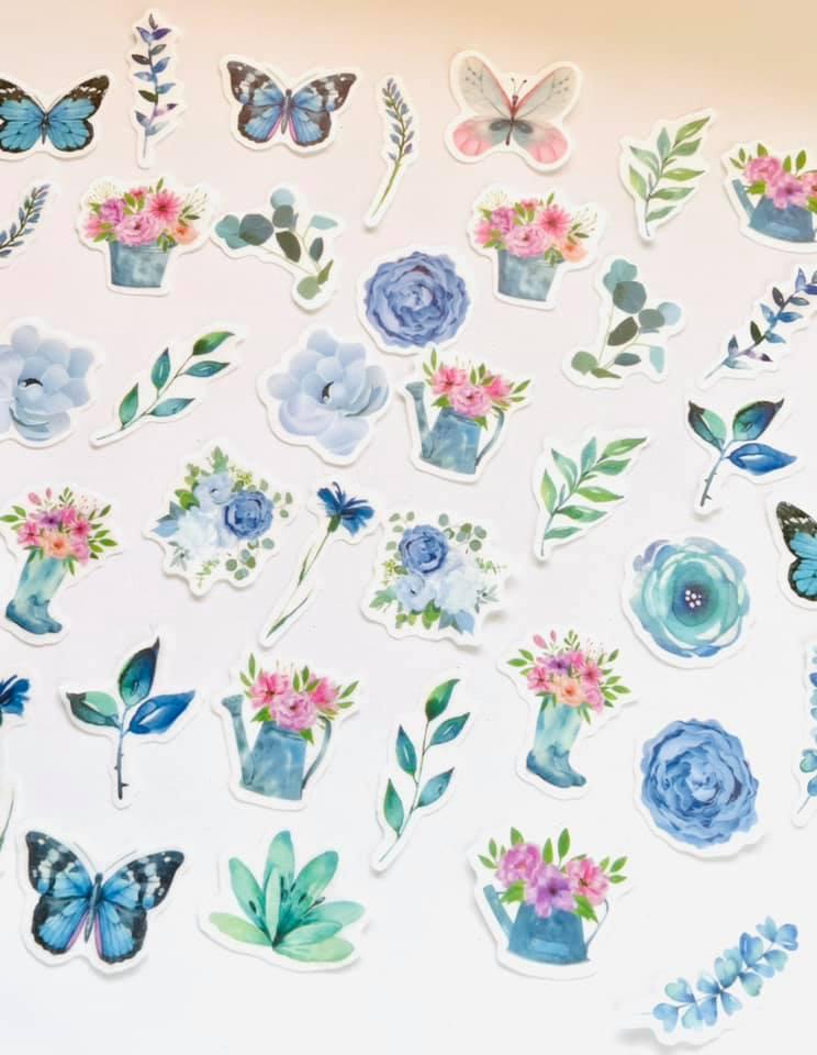 Adesivo Primavera Azul