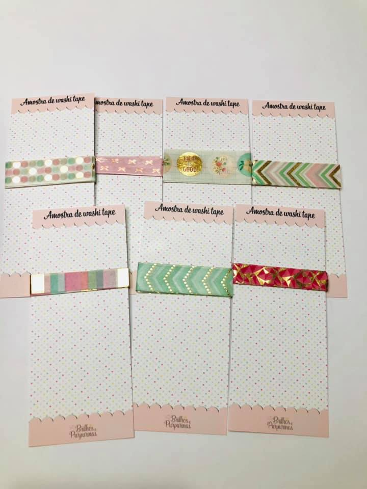 Amostra Washi Tape Recolletions