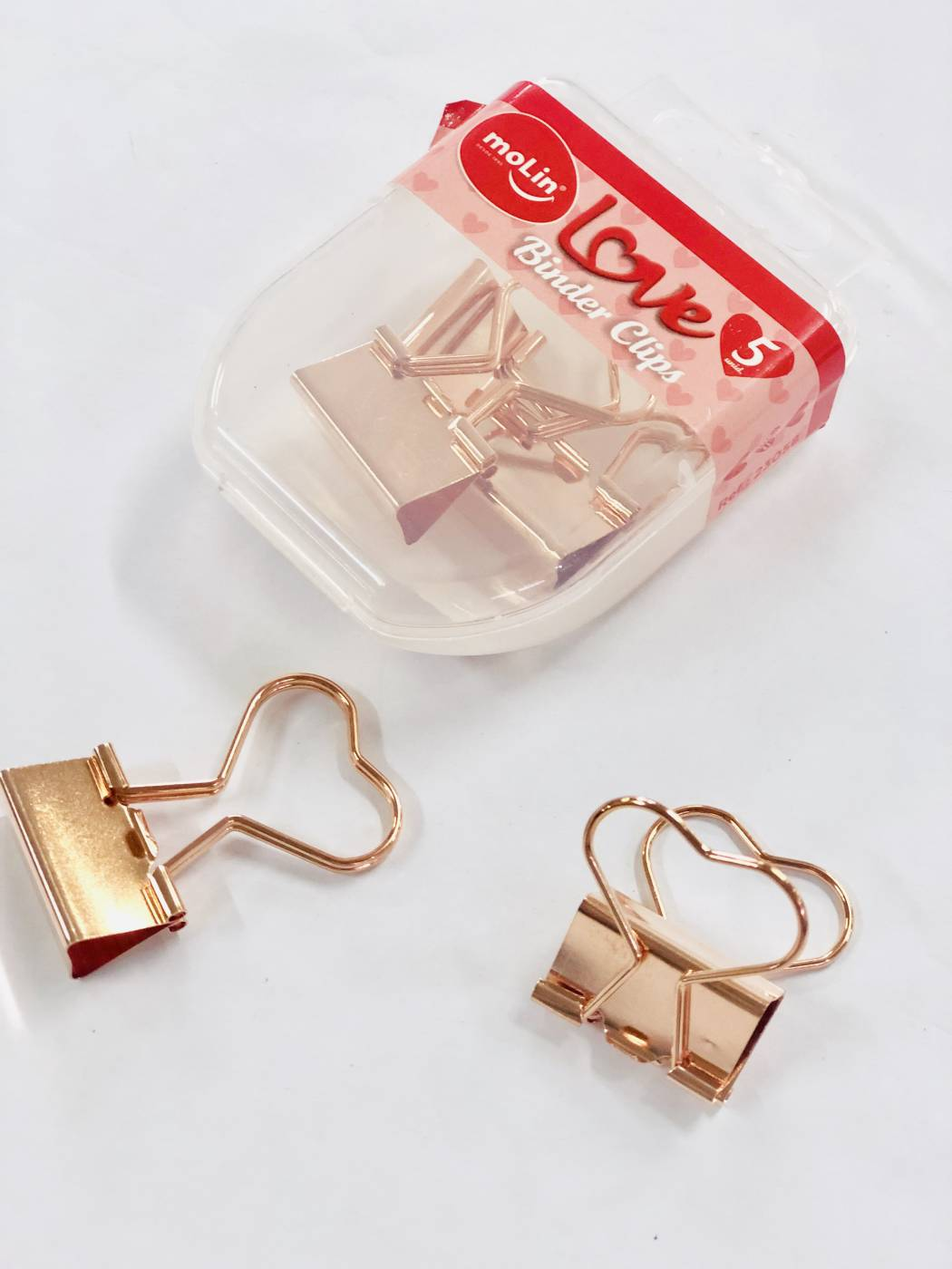 Binder Love Rose Gold 5un