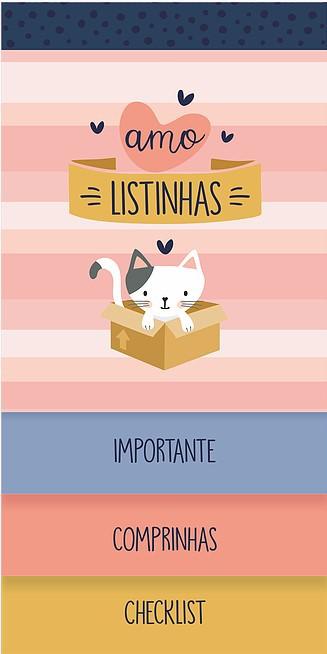 Bloco Listas Cats