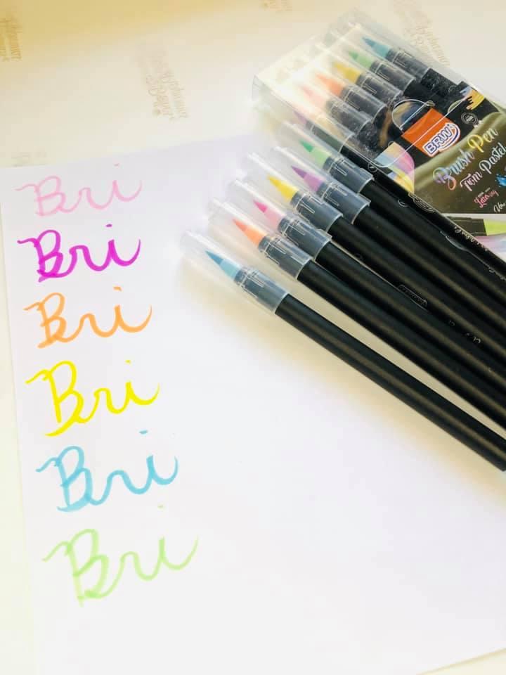 Brush Pen  pastel