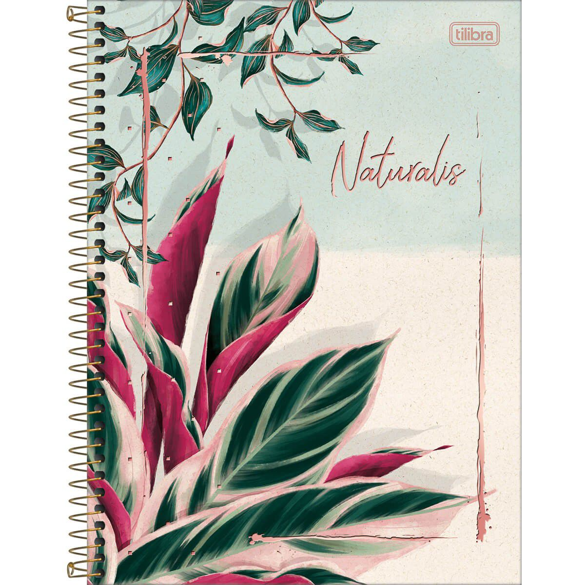 Caderno Capa Dura Naturalis 1 Matéria