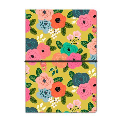 Caderno Duplo Floral Dia