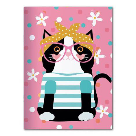 Caderno pontilhado Happy Mia