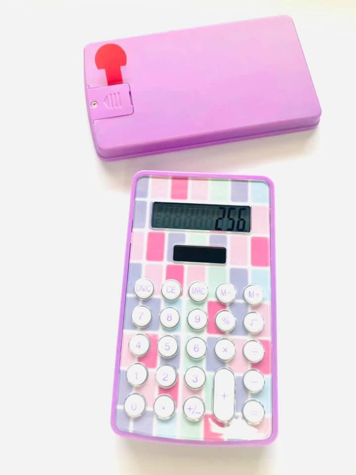 Calculadora Xadrez Lilás