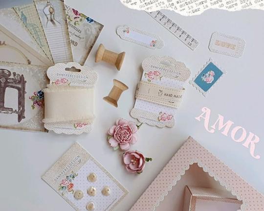 Cards - Coleção Homemade Love - Dany Peres Design