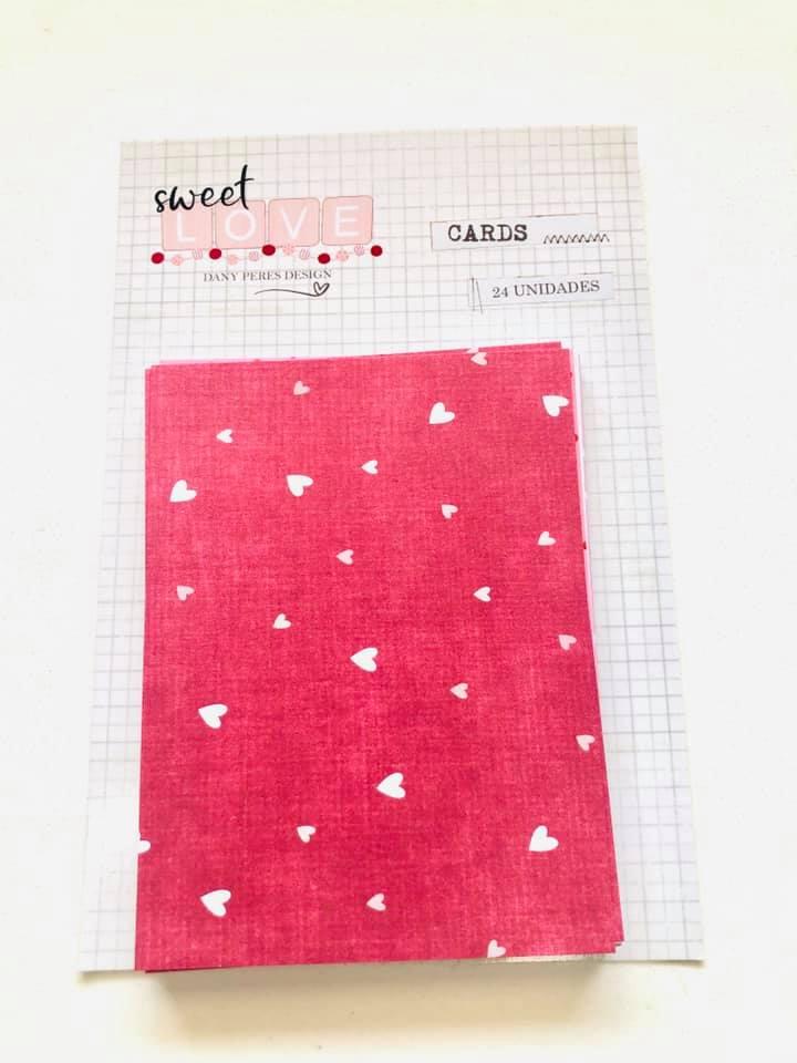 Cards - Sweet Love 24 un