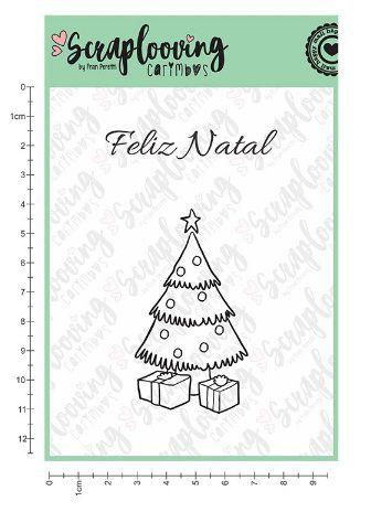 Carimbo Árvore Natal