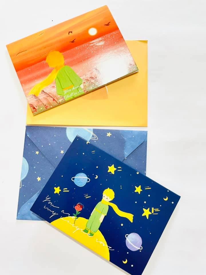 Cartão O pequeno príncipe
