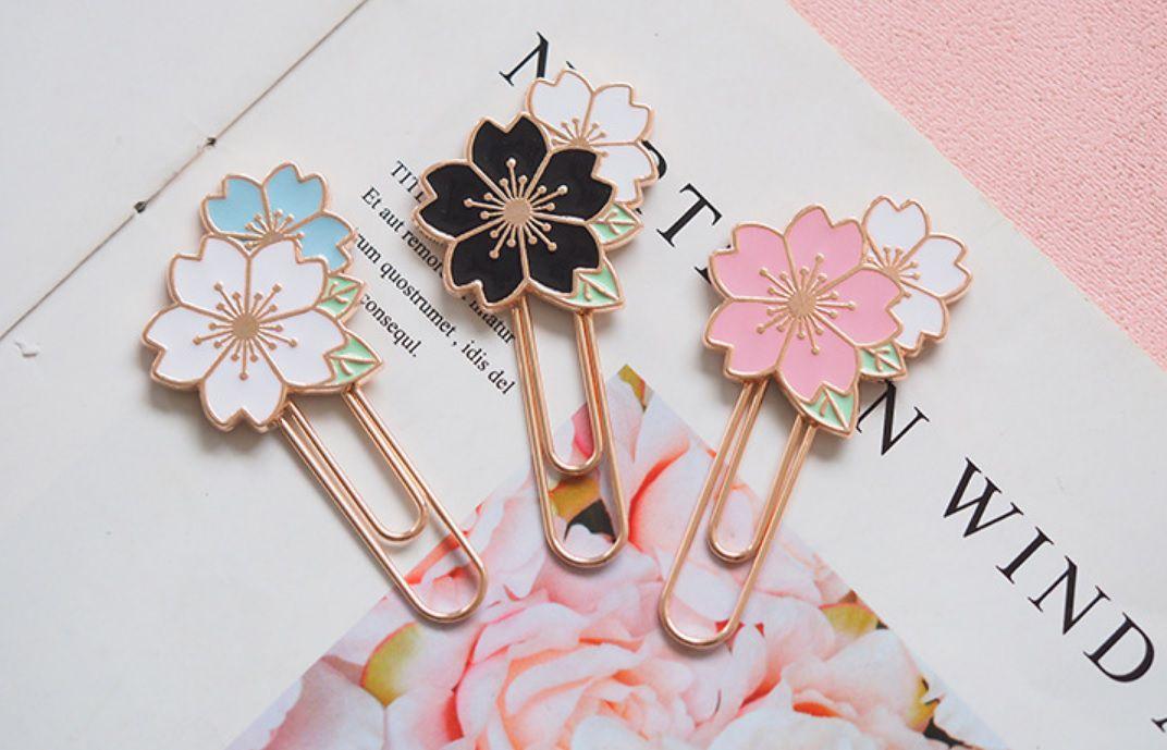Clips Flor Sakura