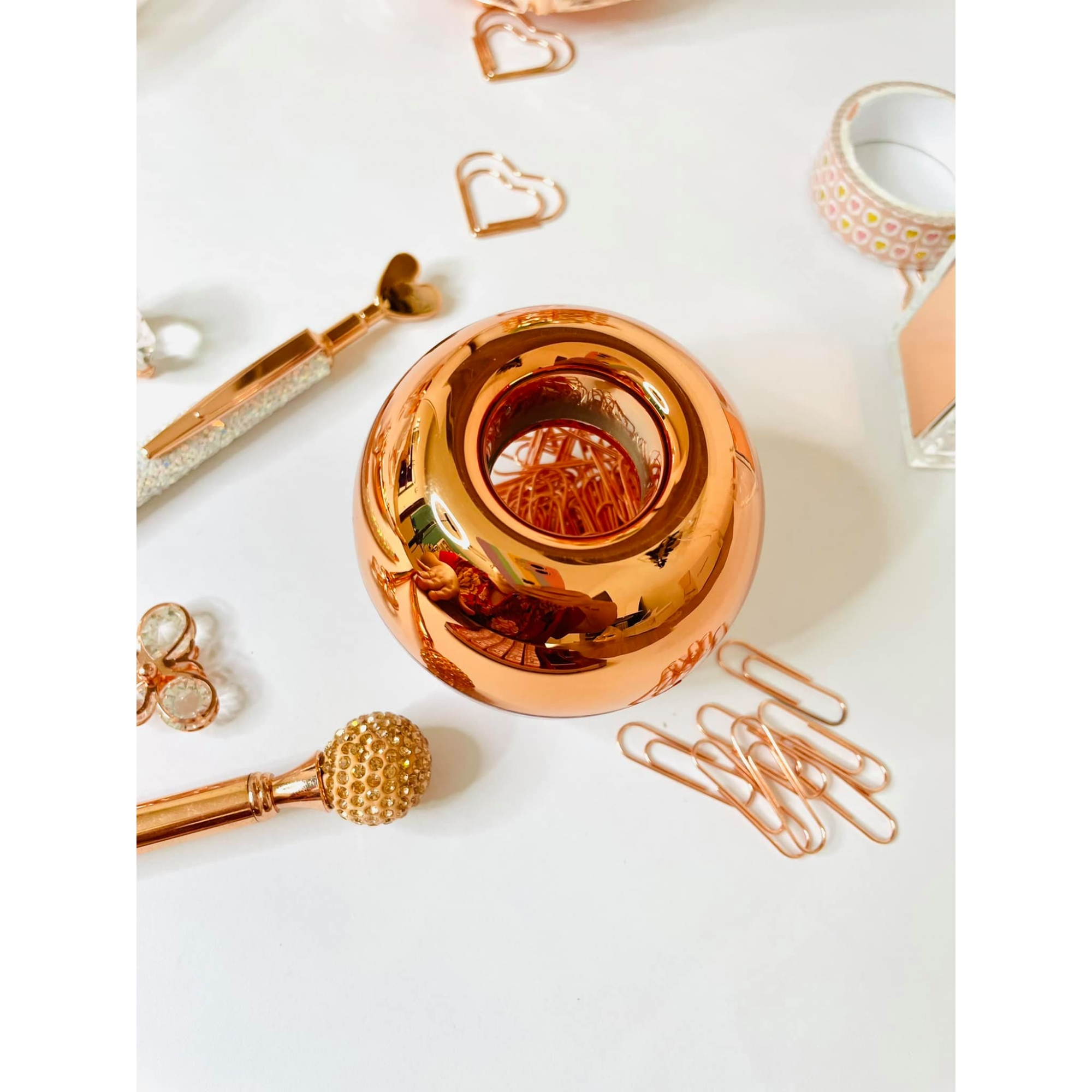 Clips Rose Gold Luxo