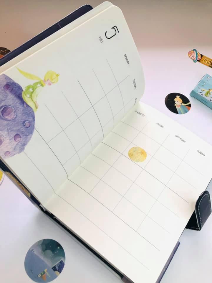 Diário Planner O pequeno Príncipe