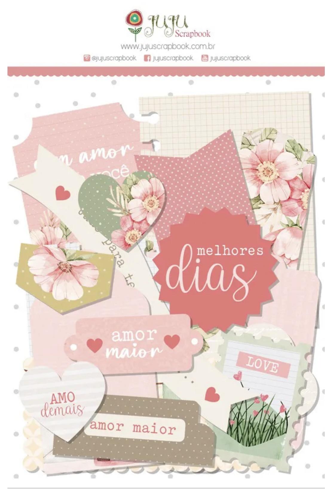 Die Cuts Sempre Juntos  Coleção Cartas Para Você
