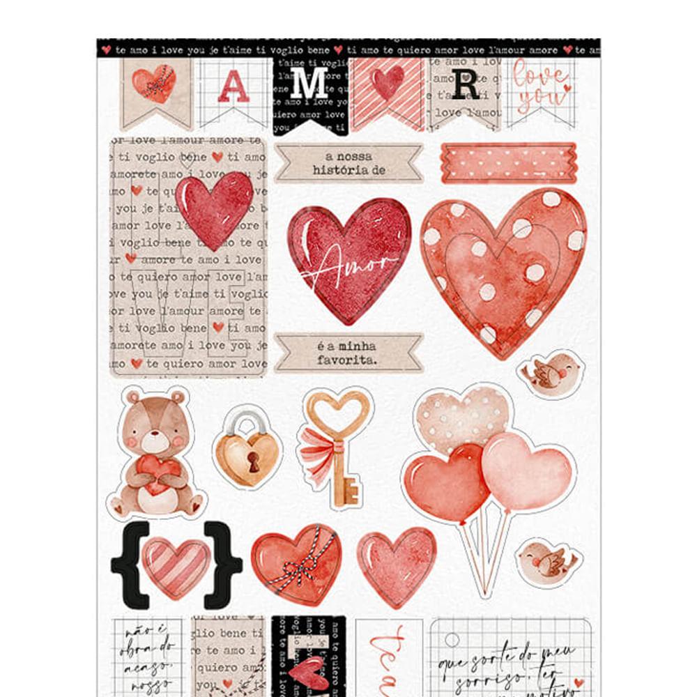 Die Cuts Tag de amor