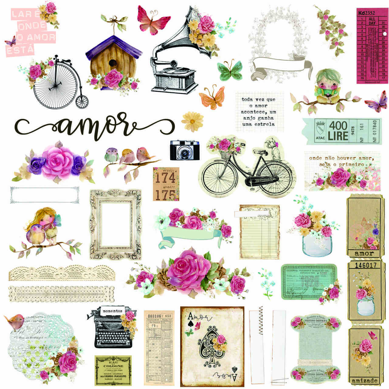 Die Cuts You Are My Home