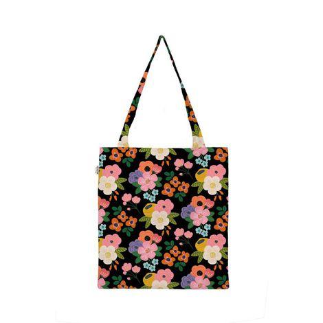 Eco Bag Floral Noite
