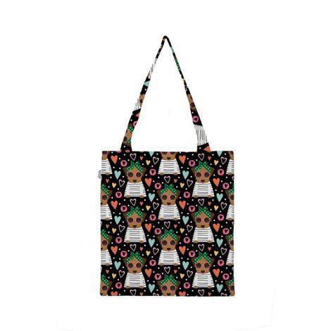 Eco Bag Happy Caramelo