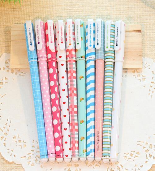 Kit com 10 canetas coloridas- Modelo B