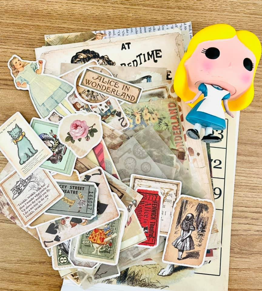 Kit craft Alice no país das maravilhas 90 un