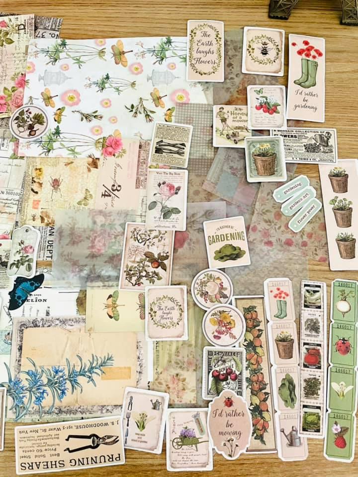Kit craft garden 90 un