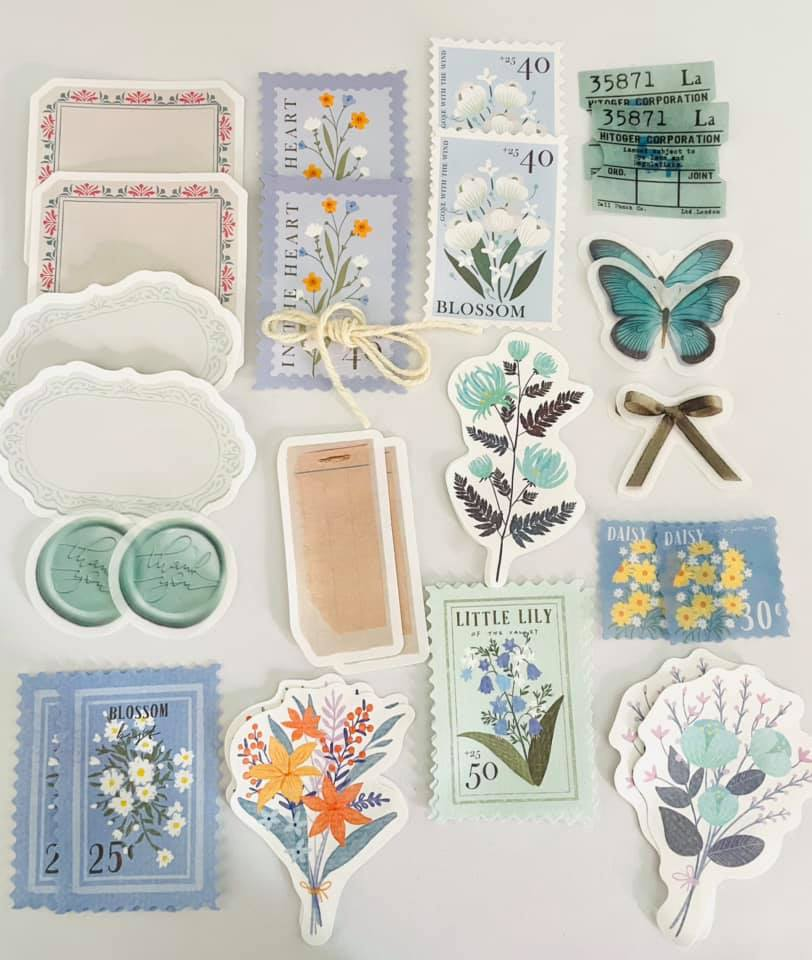 Kit criativo azul