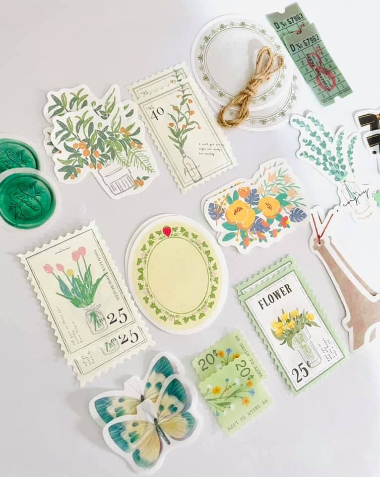Kit criativo verde