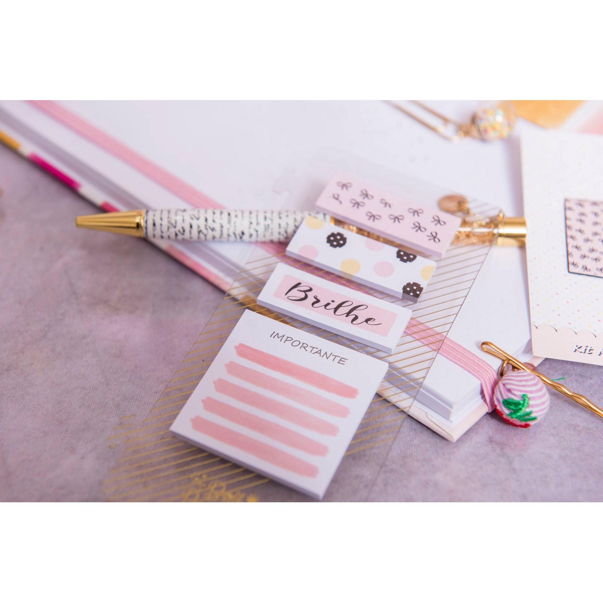 Kit niver Sticky notes e kit escolar