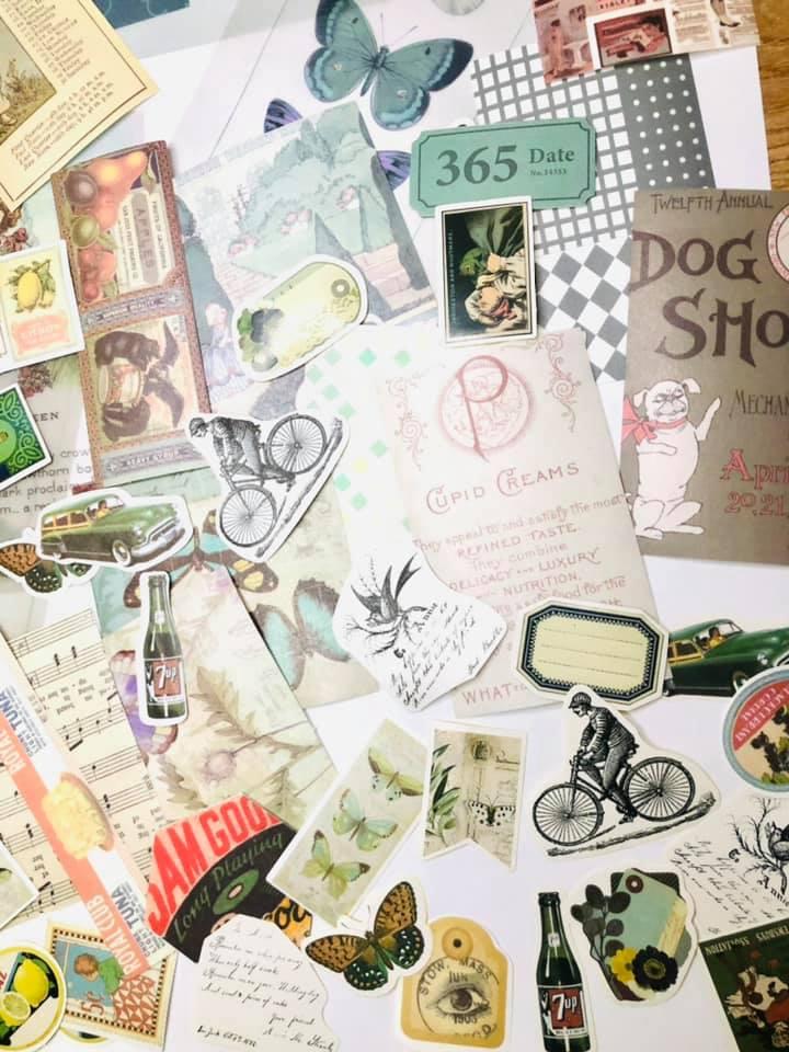Kit Vintage Scrap Criativo 74 un