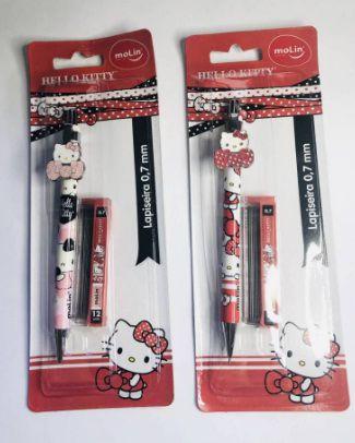 Lapiseira Hello Kitty 0,7 com Grafite
