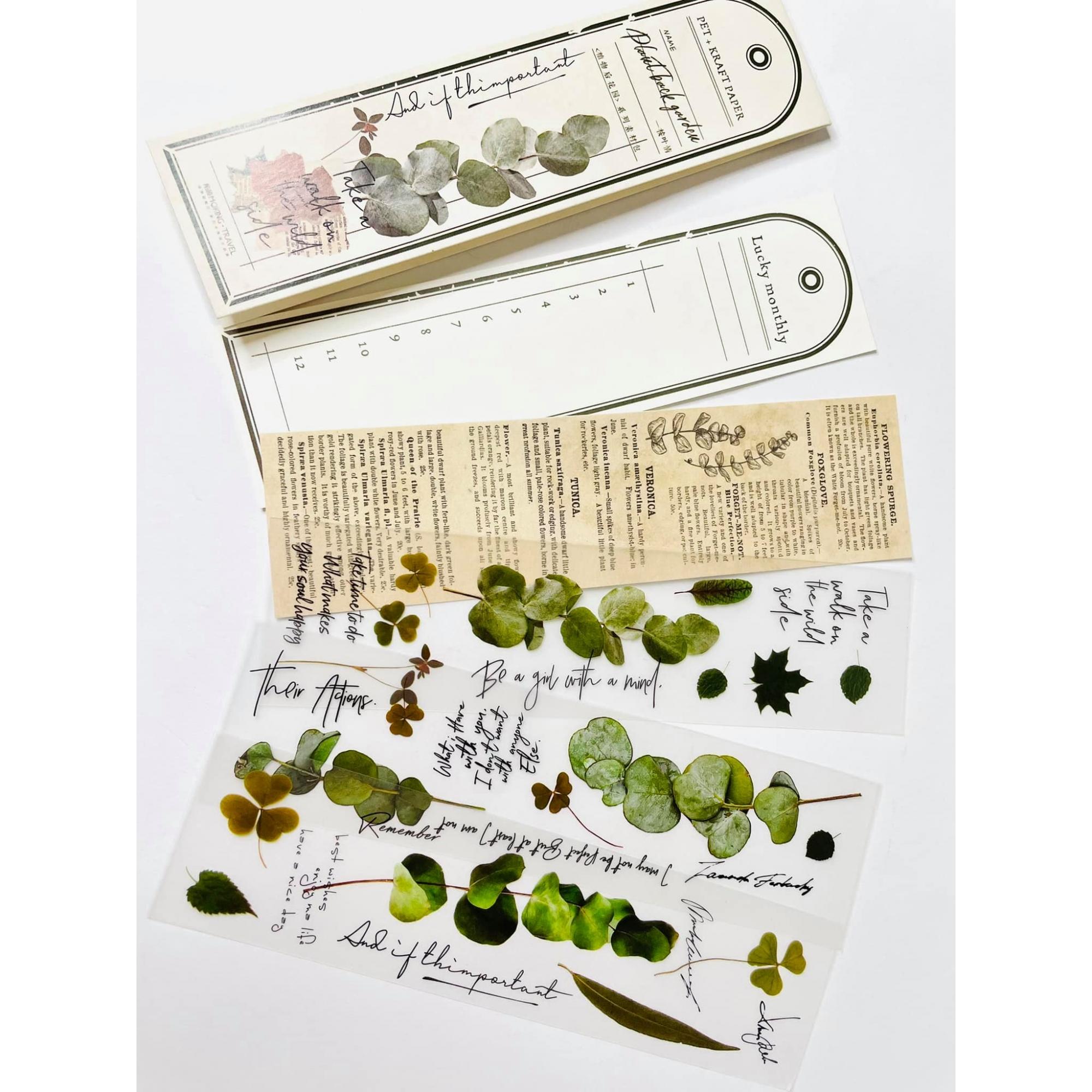 Marca Páginas Vintage Verde