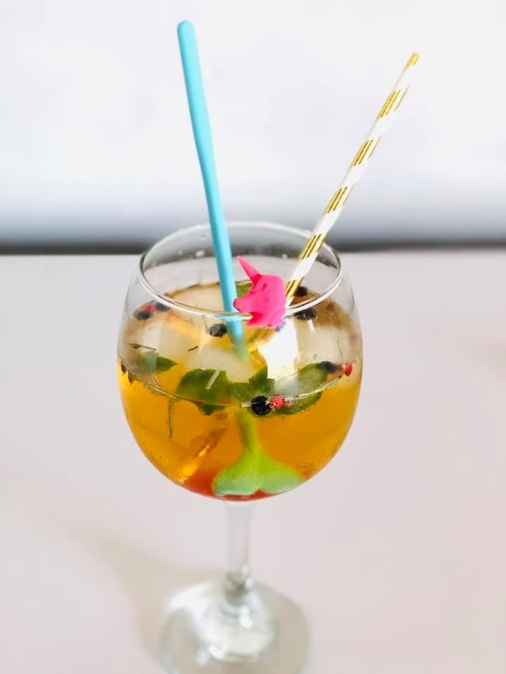 Marcador de taças e copos Unicórnio