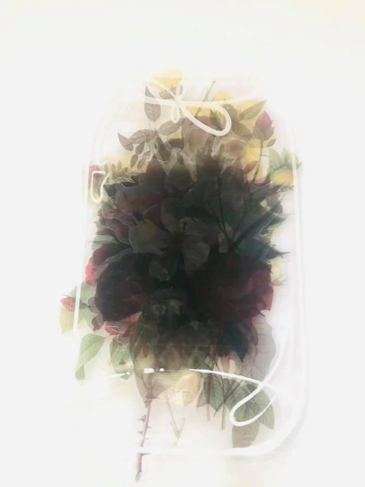 Mason Jar de Flores Grandes