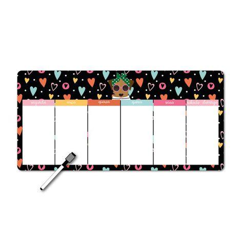 Memo board magnético horizontal Happy Caramelo