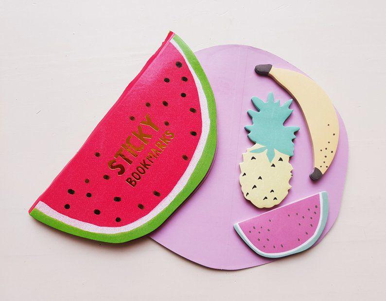 Memo Pad Fruit