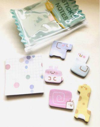 Mini Sticky Notes Animais