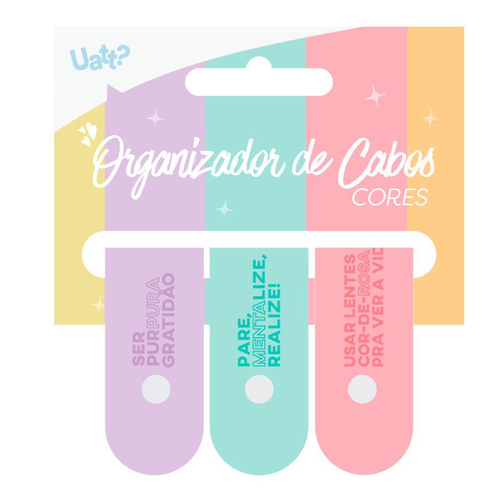 ORGANIZADOR CABOS (3UN) - CORES