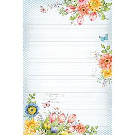 Papel de carta primavera
