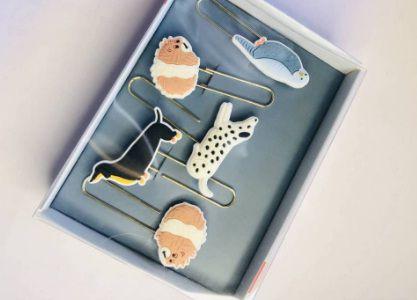 Paper Clips Dog e Ouriço-Hema