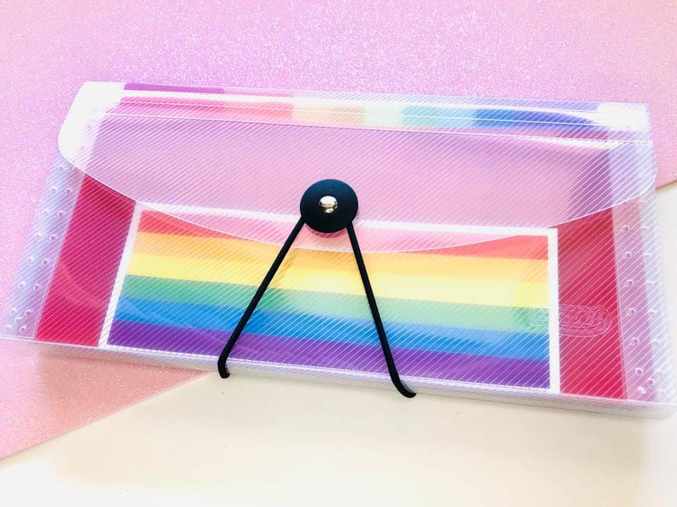 Pasta sanfonada Rainbow