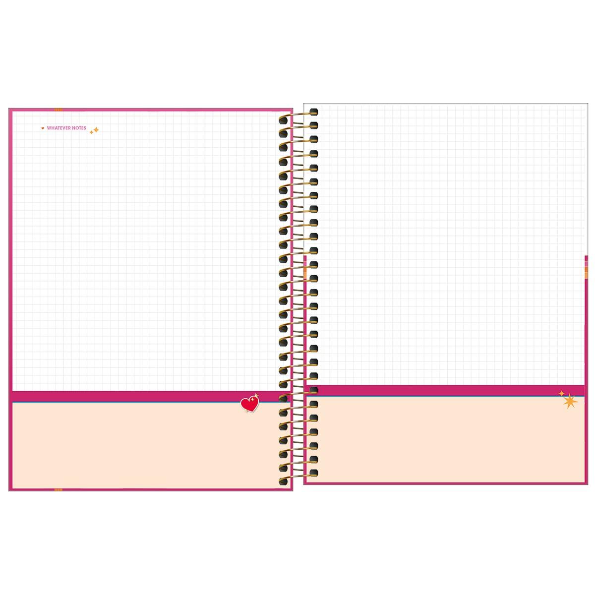 Planner Espiral 17,7 x 24 cm Love Pink 2022