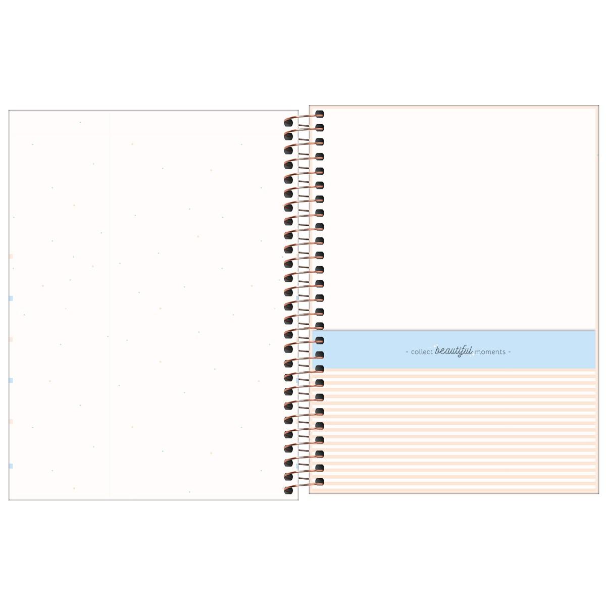 Planner Espiral 17,7 x 24 cm Soho 2022 - Várias capas