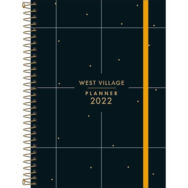 Planner Espiral 17,7 x 24 cm West Village 2022