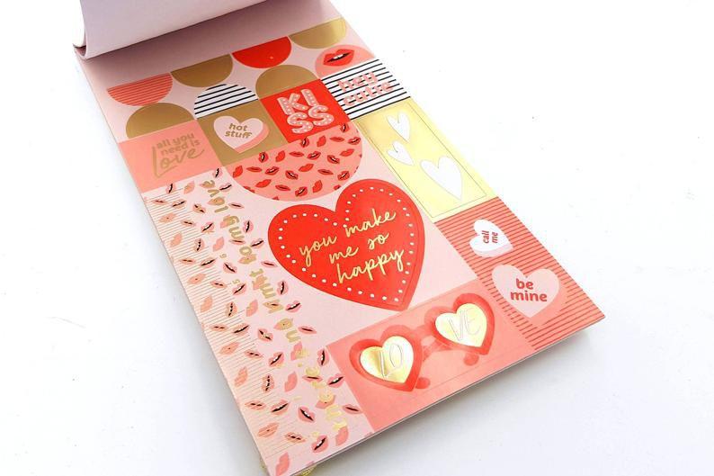 Sticker Book Love 1000 un