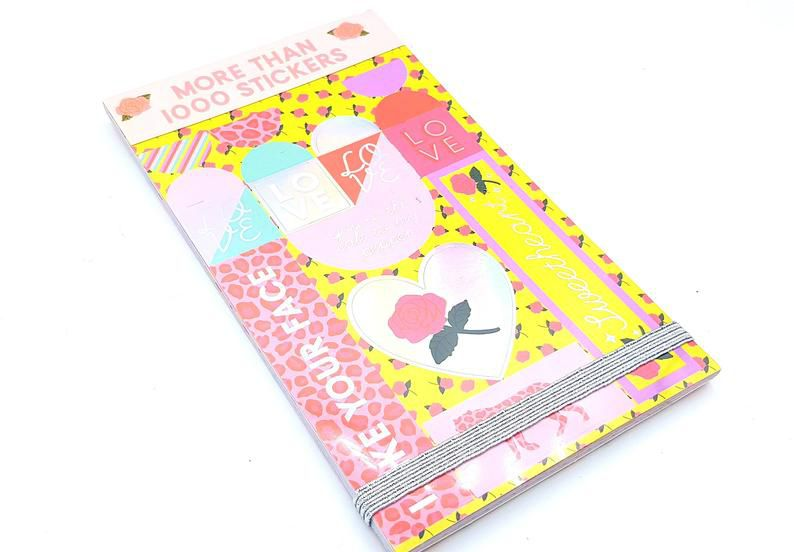 Sticker Book Love Oncinha 1000 un
